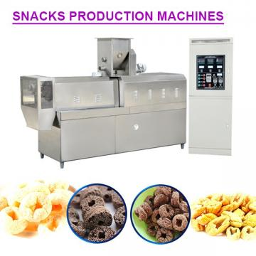 Low Price High Output Snack Food Machine With Corn Flour As Main Materials