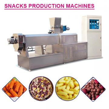 Fully Automatic Custom Extruder Machine For Snacks,plc Touch Screen System