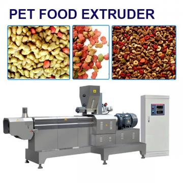 ISO9001 Compliant Various Shapes Dog Food Making Machine, Accurate Control
