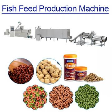 60kw Hot Trends Fish Food Making Machine, Low Power Consumption