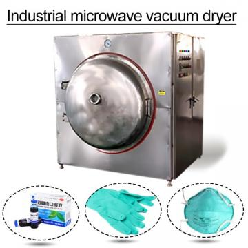 Fast Speed High Capacity Microwave Dryer With Speed Can Be Adjusted