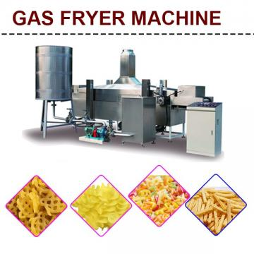 Best Sale 800 - 1000kg/h Capacity Industrial Deep Fryer With Fast Preheating