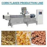 100-200kg/h Capacity Excellent Quality Corn Flakes Making Machine With Flour As Main Materials