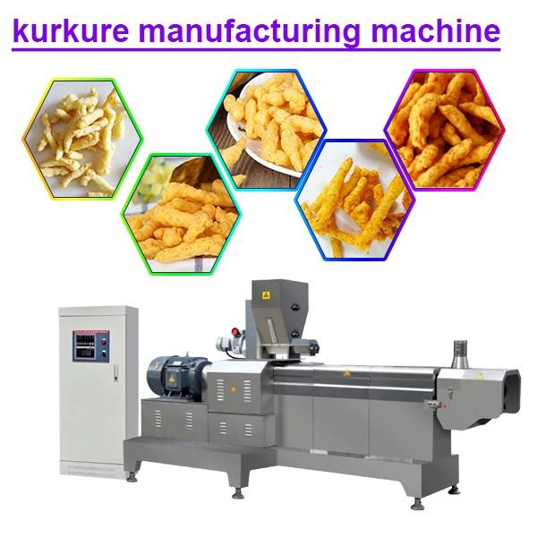 800 - 1000kg/H Capacity Good Quality Kurkure Extruder With High Efficiency #1 image