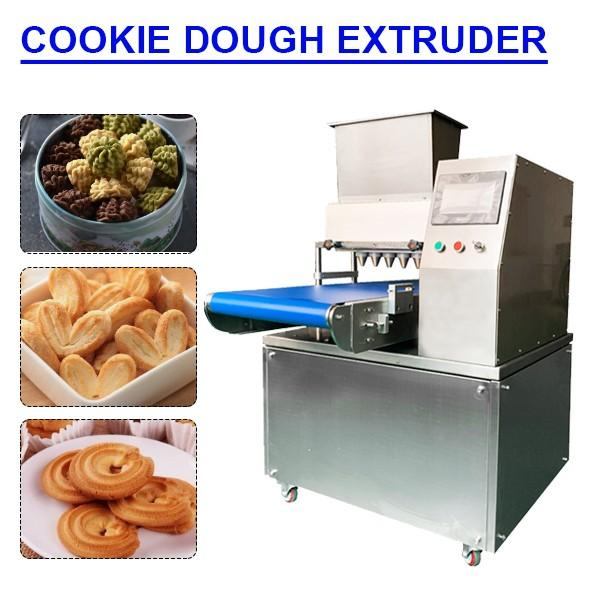 CE Compliant Easy Operation Dough Extruder Machine,Cookie Machine #1 image