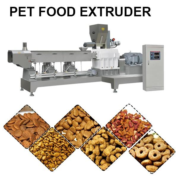 Factory Price Stainless Steel Pet Extruder Machine With Plc And Touch Scrren Controls #1 image