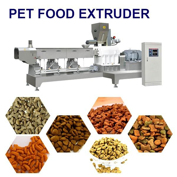 Competitive Price Small Dog Food Extruder Machine With Soya Meal As Materials #1 image