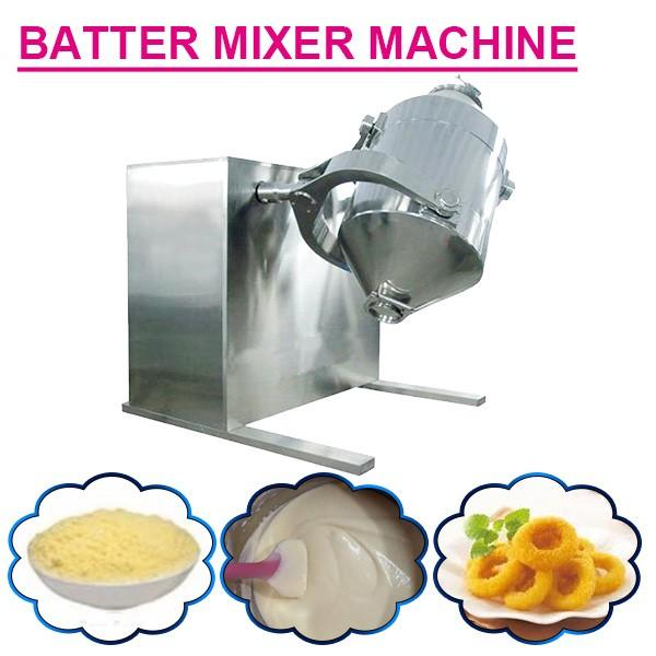 100kw High Capacity Batter Mixer Machine For Cupcake,Low Cost High Output #1 image