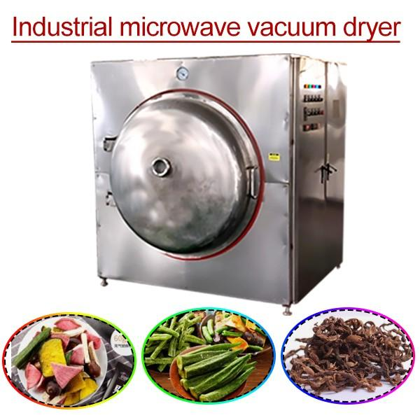 80kw High Drying Efficiency Microwave Vacuum Drying Equipment With Save Energy #1 image