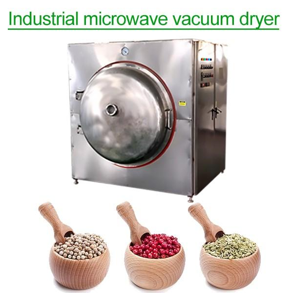 ISO9001 Compliant Competitive Price Industrial Microwave Dryer For Medicinal Herbs #1 image
